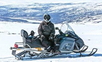 On-snowmobile